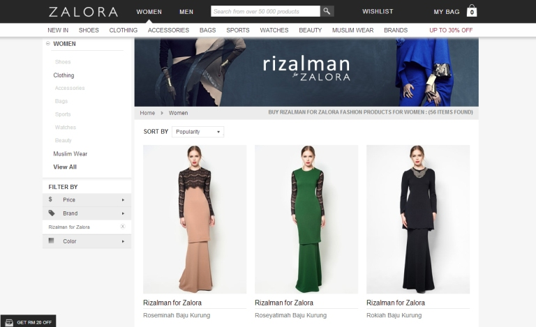 Rizalman for Zalora