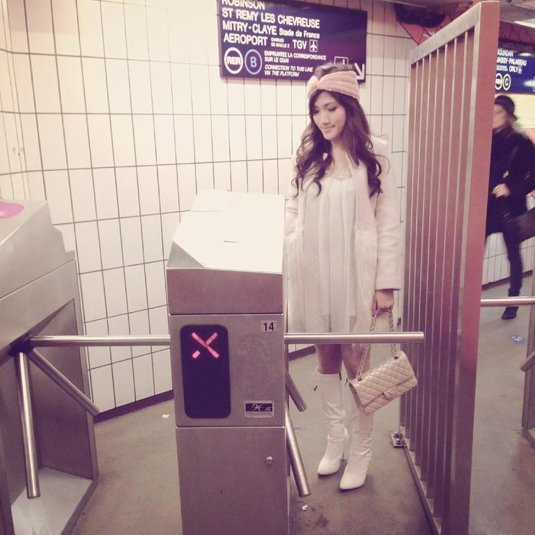 Millionmars Paris Metro