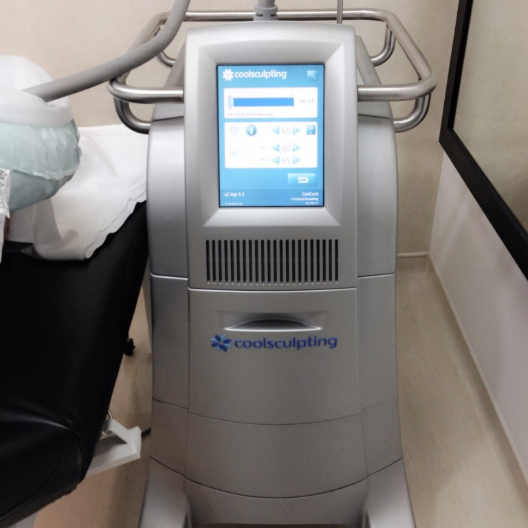 beverly wilshire coolsculpting machine