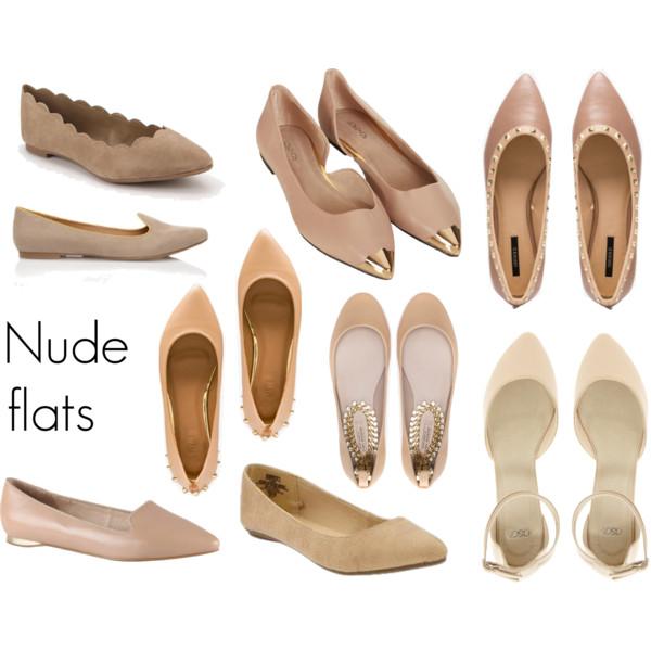 Nude flats 1