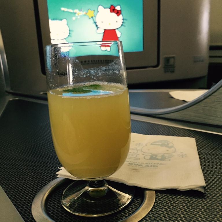 eva air pineapple juice
