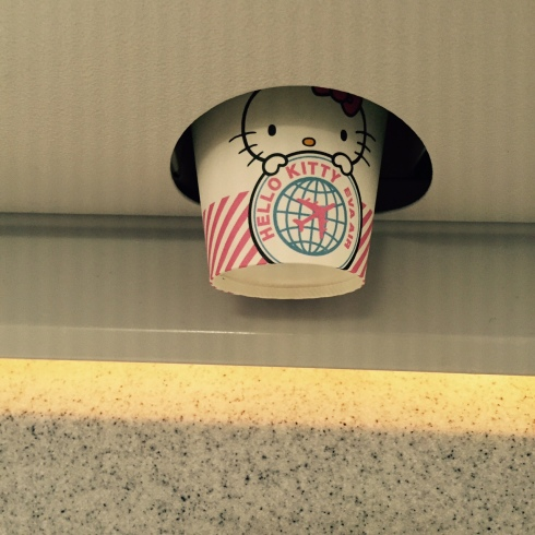 hello kitty paper cup