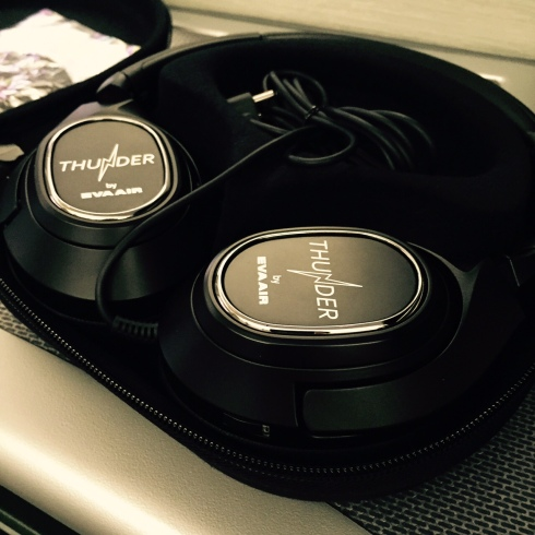 eva air headsets