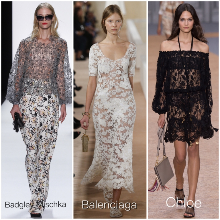 spring fashion trend 2016 lace