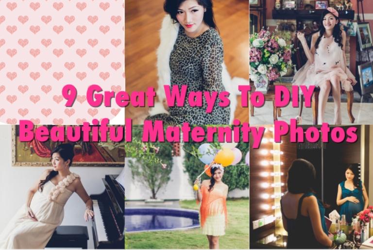 9 great ways to diy beautiful maternity photos