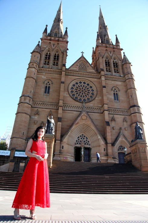 Millionmars Red Dress St Mary 5