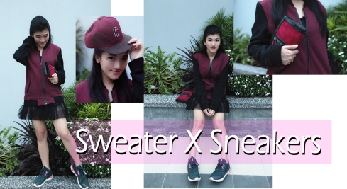 Sweater and sneakers copy