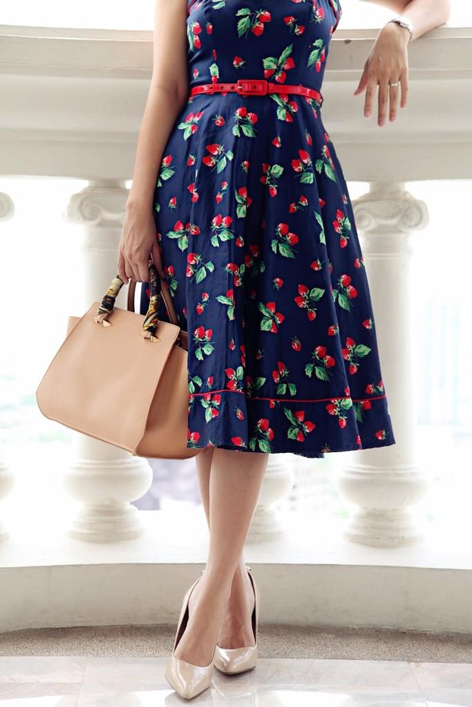 Strawberry Vintage Dress Millionmars 6