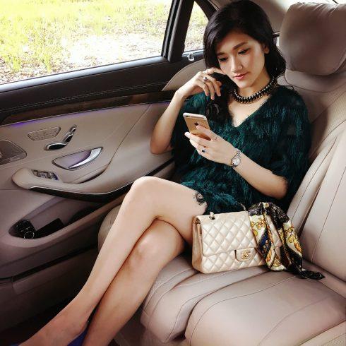 luxury travel car
